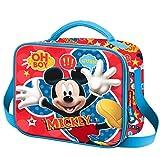 Karactermania Mickey Mouse Jump Mochila Infantil, 24 cm, Rojo