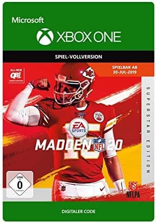 Madden NFL 20– Superstar Edition   Xbox One - Download Code