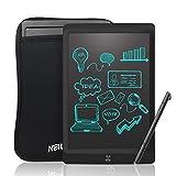 NEWYES LCD Tablet da Scrittura Portatile con Chiave di Blocco, Lunghezza 10 Pollici (Nero+Astuccio)