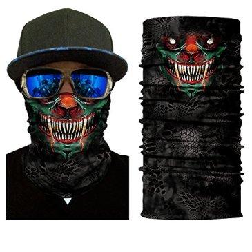 BJ Global Masque Sport pour plein air, pouvant servir de cache-cou, coupe 66c709bdc27