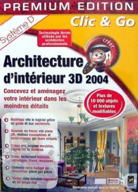 Architecture d'intérieur 3D 2004