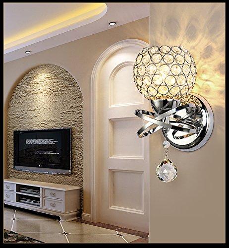 D chandelier Master Bedroom Lampada da Parete Soggiorno Parquet Semplice Scala a Chiocciola Lampada...