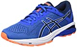ASICS GT-1000 6, Scarpe Running Uomo, Blu (Victoria Dark Blue/Shocking Orange 4549), 42.5 EU