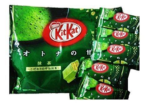 Japanese Green Tea Kit Kat 2 Packs (24 Pieces Total)