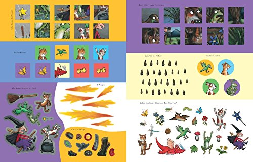 Room on the Broom Sticker Book [Lingua inglese]