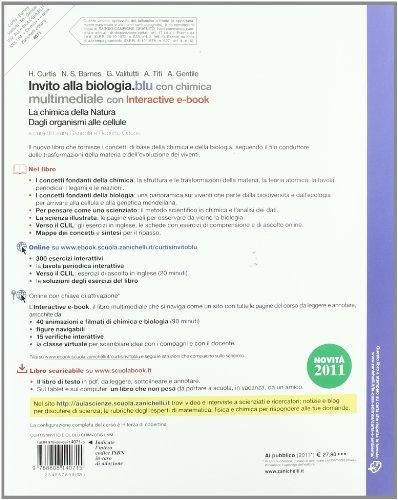Libro Invito Alla Biologia Blu Con Chimica Per Le Scuole