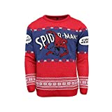 Official Spider-Man 'Cool It Webhead' Christmas Jumper/Ugly Sweater - UK M/US S