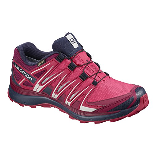 Salomon XA Lite GTX, Calzado de Trail Running para Mujer, Rosa (Virtual Pink/Cerise./Evening Blue), 42 EU