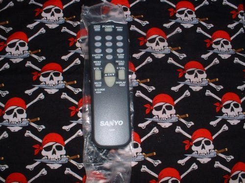 Sanyo TV Remote Control FXMM FXMA FXMH FXMP Supplied with models DS19590 AVM2550 AVM2759 AVM1341 DS13400 DS19500 AVM1308 AVM1908 AVM2508