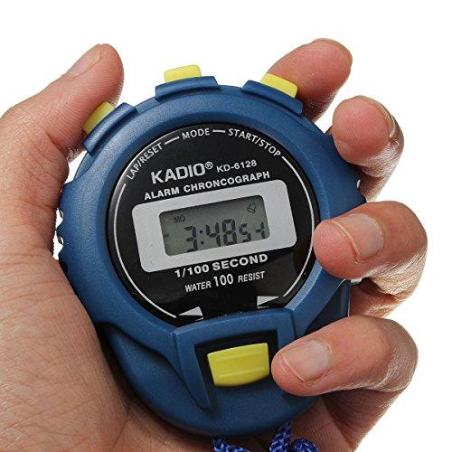 Bluelover Contachilometri Sportivo Orologio Digitale Cronografo Cronometro Elettronico
