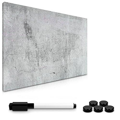 Navaris Memo Board lavagna magnetica - Lavagnetta scrivibile cancellabile con pennarello e calamite...