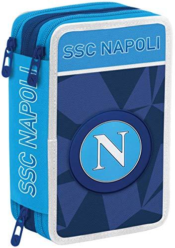 Ssc Napoli Napoli Sprint Astuccio, 20 Cm, Dresden Blue