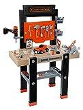 Smoby- And Black più Decker Bricolo Center con 91 Accessori, 7600360701