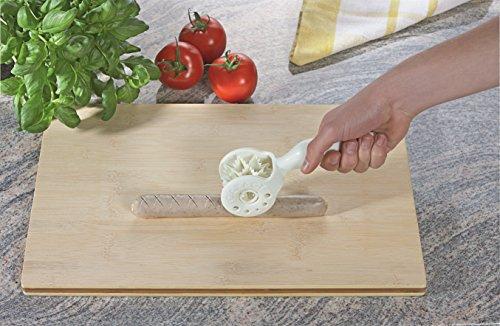 CARACT, originelles Grillzubehör zum einschneiden für Grill- und Bratwürste