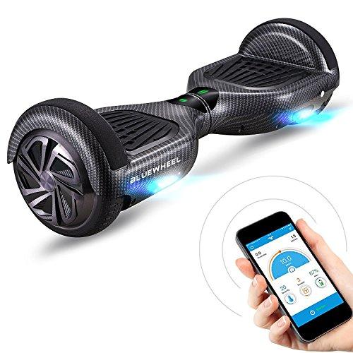 Bluewheel Skateboard Elettrico Elettrico HX310s, Scooter Elettrico a Due Ruote 6.5', Smart Self...