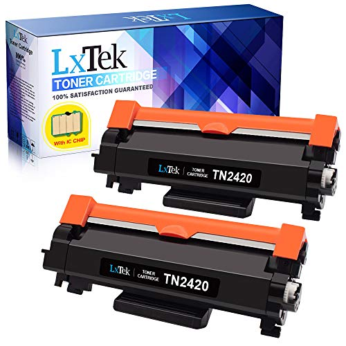 2 LxTek Compatibile per Brother TN2420 TN-2420 TN2410 TN-2410 Cartucce di Toner per Brother...