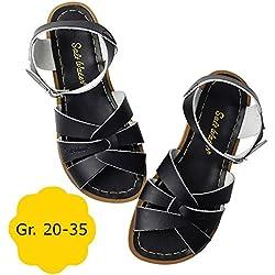 Salt-Water Wasserfeste Kinder-Sandale Original Schwarz EU 32 (SW 13)