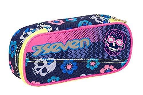 PORTAPENNE scuola SEVEN - MEXI GIRL - Rosa - porta penne