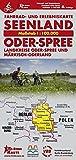 Seenland Oder-Spree Gesamtgebiet: Fahrrad- und Erlebniskarte für die Landkreise Oder-Spree und Märkisch-Oderland, Maßstab 1 : 100.000, 4. Auflage