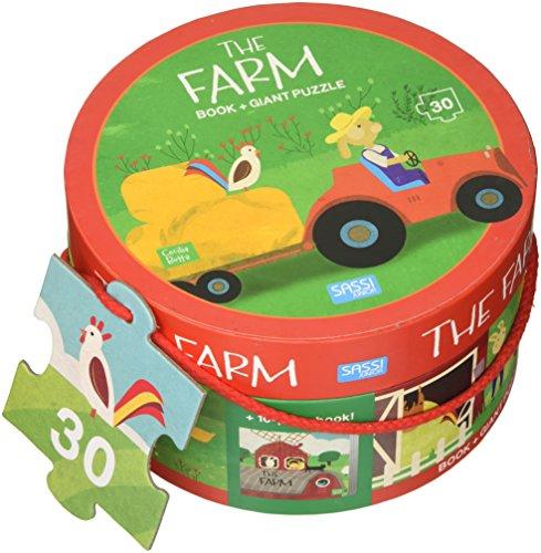 The farm. Ediz. a colori. Con puzzle [Lingua inglese]