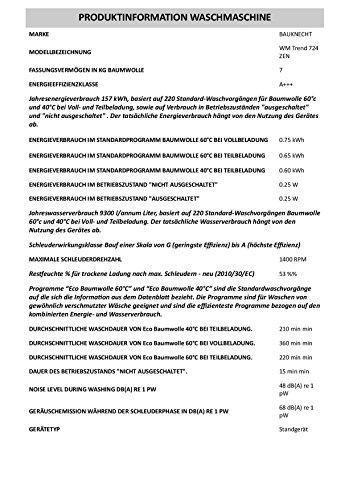 Bauknecht WM Trend 724 ZEN - 3