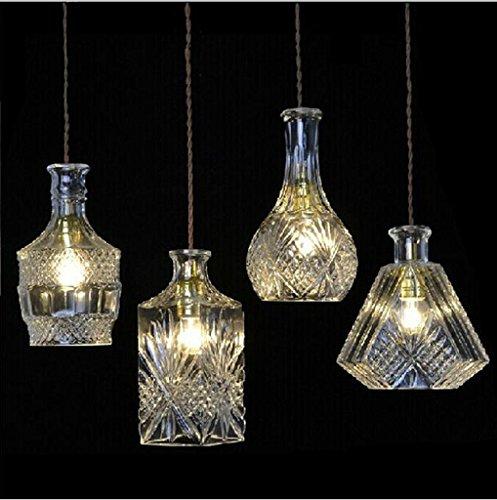 In ottone antico lampadario,luci a soffitto per soggiorno lampadario,Nordic Creative vetro...