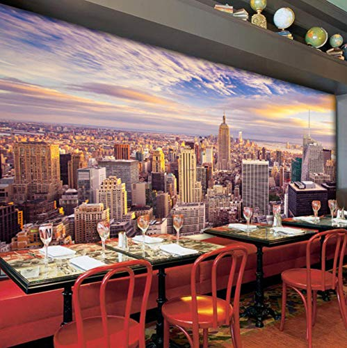 Personalizzato 3D Foto Wallpaper Home Decor Nueva York Salón Divano Dormitorio Tv Fondo Papel...