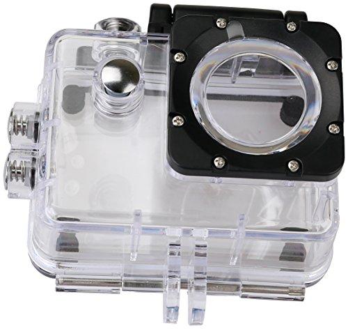 Rollei Unterwassergehäuse für Rollei Actioncam 372 / 510 / 610 / 525 / 625 / 540 - Wasserdicht für Tauchtiefen bis zu 40 Meter - Transparent