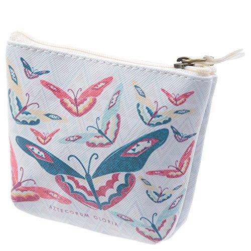 Práctico PVC Make Up Bolsa Bolso de mano–diseño de mariposas