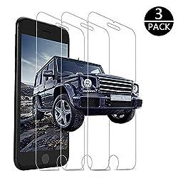 Kaufen Panzerglas Schutzfolie für iPhone 6/iPhone 7/iPhone8 [3 Stück],9H Härte Displayschutzfolie,3D Touch Kompatibel,Anti-Bläschen,Anti-Kratzen,Anti Öl,HD Ultra-Klar,Tempered Glass (4,7 Zoll) (p7)
