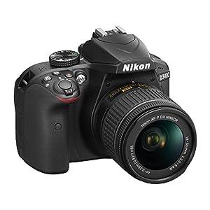 Nikon D3400 24.2 MP Digital SLR Camera (Black) with AF-P DX NIKKOR 18-55mm f/3.5-5.6G VR Lens Kit with 16GB Card and Camera Bag