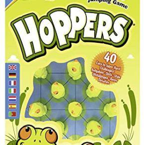 Think Fun- Hoppers Juego de Habilidad (Ravensburger 76347)