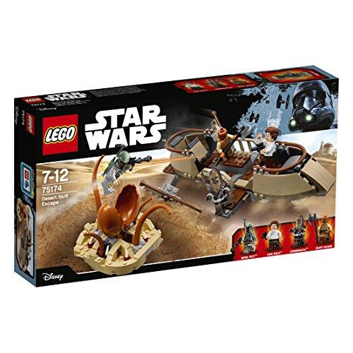 LEGO Star Wars - Huida en el esquife del Desierto (75174)