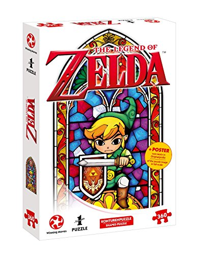 The Legend of Zelda - The Wind Waker The Hero of Hyrule (360 pezzi), poster originale incluso