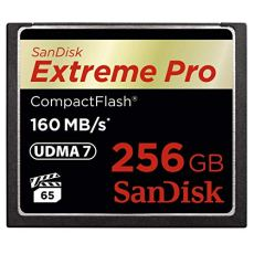 SanDisk SDCFXPS-256G-X46 256 GB Extreme Pro 160 MB/s CompactFlash Card