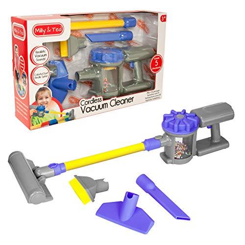 Milly & Ted Toy Handstaubsauger - Reinigungsset für Kinder