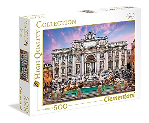 Clementoni - 35047 Collection Puzzle - Trevi Fountain - 500 Pezzi