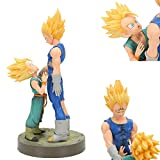 CYRAN Dragon Ball Z Vegeta et Trunks Figure Figurine d'action Anime Super Saiyan Jouet d'enfant
