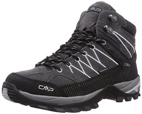 CMP Rigel Mid WP Herren Trekking- & Wanderstiefel, Grau (Grey U862), 44 EU