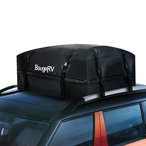 BougeRV Box Tetto Auto per Auto Borsa da Trasporto Impermeabile 425 Litri Resistente da 1000D Borsa...