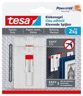tesa-Verstellbarer-Klebenagel-fr-Tapeten-und-Putz-spurlos-wiederablsbar-wiederverwendbar-2-kg-3er-Pack-6-Ngel