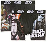 Star Wars packx2, Boxer Bambino, Mehrfarbig (Multicolor A6), 8 anni (pacco da 2)