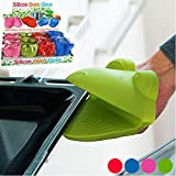 TrAdE shop Traesio Topflappen Silikon Form Tiere Bunte Stecker Ofenhandschuh Küche Idee