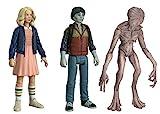 Funko - Figurine Stranger Things - 3-Pack Eleven Blond Will Upside Demogorgon Exclu 10cm - 0889698208055