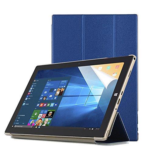 Funda Teclast P10 Octa Core Tablet Case-Slim Funda Smart Cover Transparente Durable para Teclast P10 Octa Core 10.1 Inch Tablet-Azul