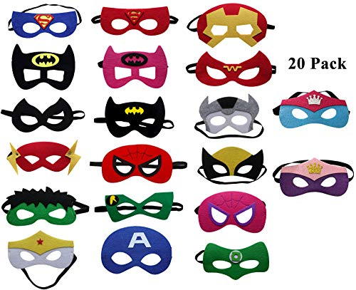 987d08654c3b2f UCLEVER Masques de Super-Héros Masques Pour Enfant d Oeil Masques ...
