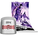 Special Edition GN Laboratories Godmode Pre-Workout Hardcore Booster Trainingsbooster Bodybuilding 150g (Lemon Ice - Zitrone) inkl. Poster
