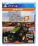 Farming Simulator 19 - Day One Edition [US Version] - Mahindra Retriever DLC & Playstation Exclusive New Holland T6 Blue Power