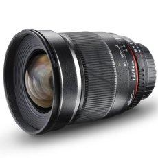 Walimex 24 mm f/1.4 ED AS - Objetivo para Canon EF (distancia focal fija 24mm, apertura f/1.4-22, diámetro: 77mm) negro