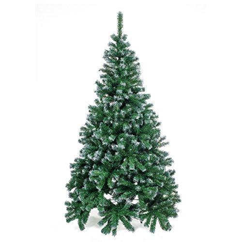 Home Christmas Albero Natale, PVC, Verde, 240 cm
